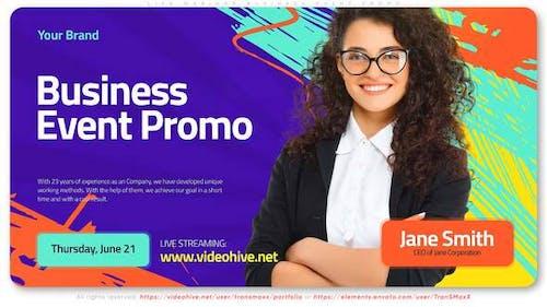 Live Webinar. Business Event Promo
