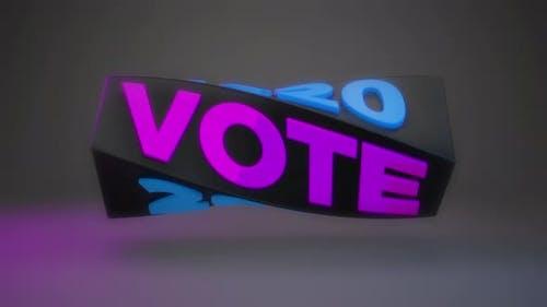 Creative Loop Words Vote and 2020
