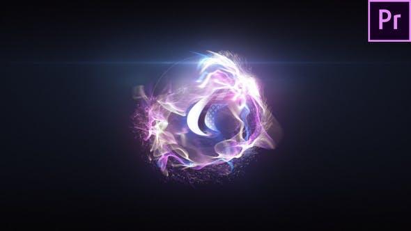 Quick Particle Sphere Logo 2 (MOGRT)