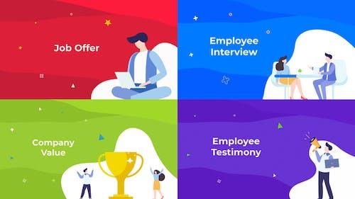 HR - Job & Company Resource // Premiere Pro // Mogrt