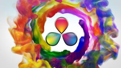 Colorful Smoke Logo Reveal - Davinci Resolve