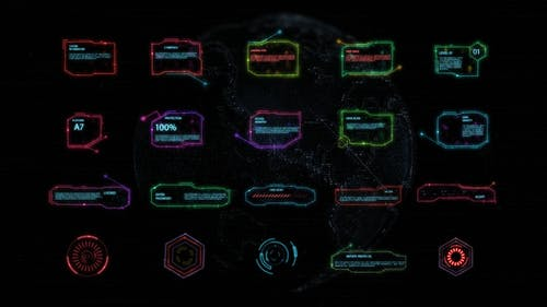HUD Interface   After Effects