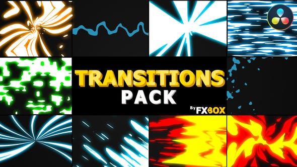 Dynamic Elemental Transitions | DaVinci Resolve
