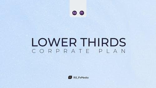 Lower Thirds | Corporate Plan | MOGRT