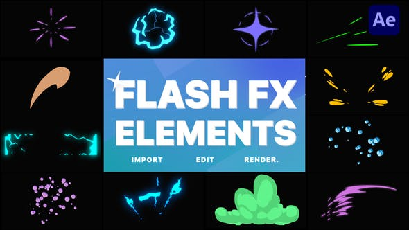 Flash FX Elements   After Effects
