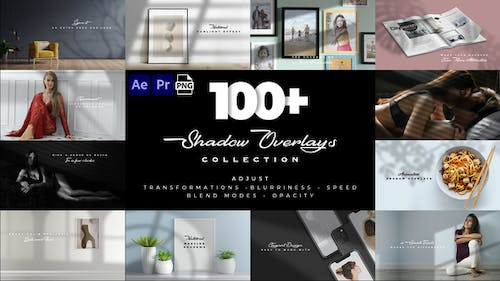 Realistic Shadow Overlays Collection