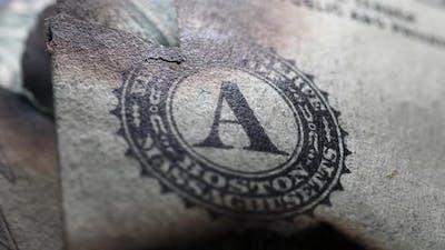 Burned Dollar