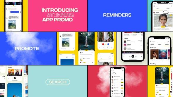 Colorful App Promo