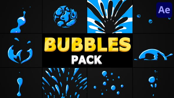 Bubbles Pack | After Effects
