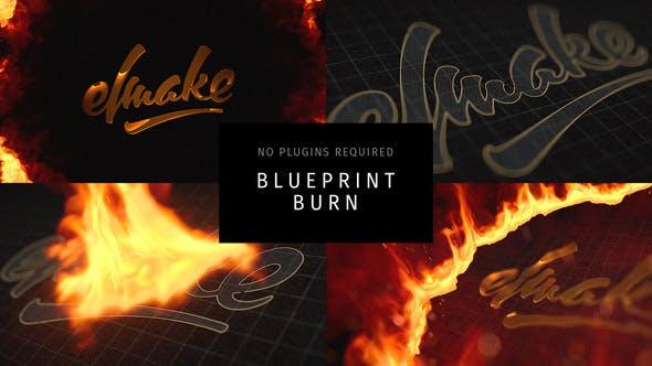 Blueprint brennen