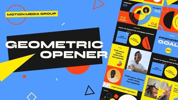 Geometric Opener 3 in 1