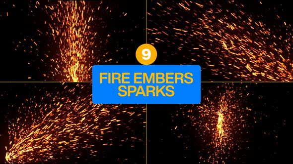 Fire Embers Sparks Particles Pack