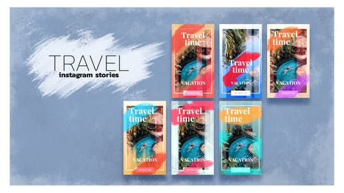 Travel Time Instagram Story