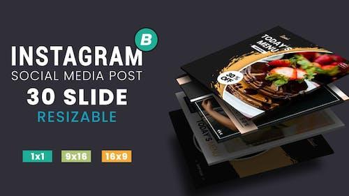 Instagram Post Fashion & Food