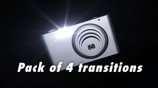 Thumbnail for Digital Camera - Pack of 4 transitions