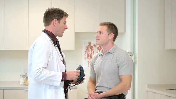 Thumbnail for Doctor consulting patient in clinic