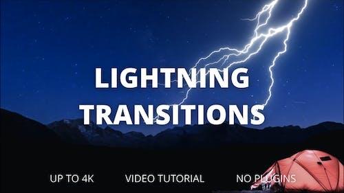 Lightning Transitions for DaVinci Resolve