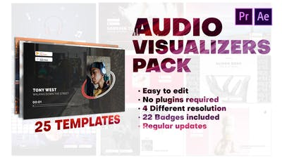Audio Visualizers Pack for Premiere Pro