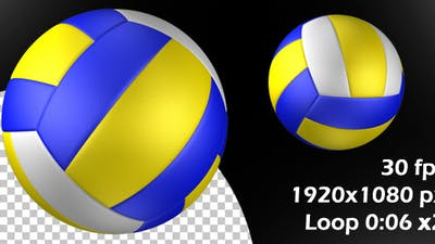 Volleyball Ball Rotation Loop