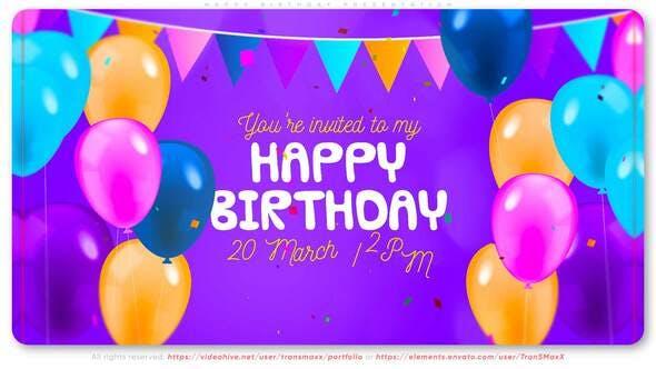 Happy Birthday Presentation