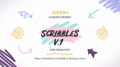 Scribbles. Hand Drawn Pack