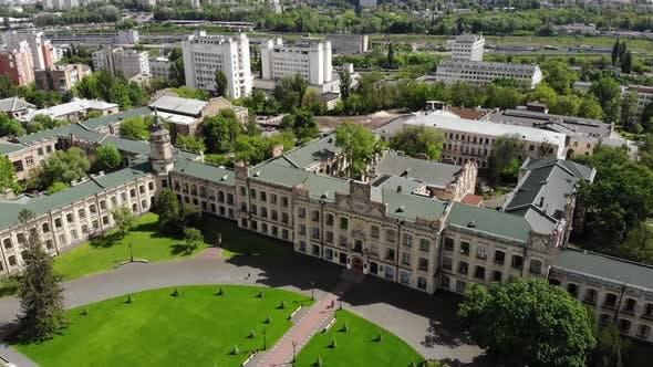 Cityscape Old University