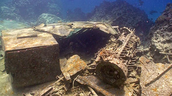 Thumbnail for Shipwreck On The Seabed, Red Sea