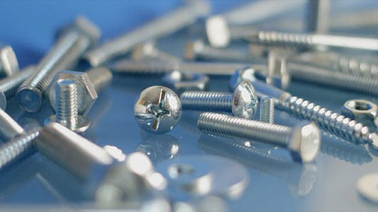 Thumbnail for Rotating Bolts And Nuts On Workbench 3
