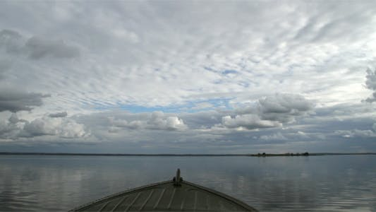 Thumbnail for View From The Front Part Of Motor Boat