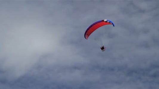 Thumbnail for Paragliding In Cloudy Sky