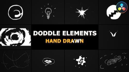 Flash FX Doodle Elements | DaVinci Resolve
