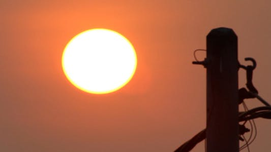Cover Image for Sunrise And Electric Pole 2
