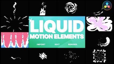 Liquid Motion Elements | DaVinci Resolve