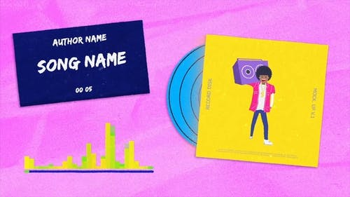 Hip Hop Music Visualizer