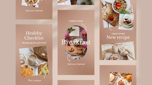 Food Blogger Instagram Stories