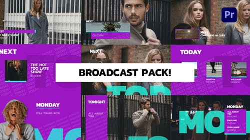 Broadcast Pack for Premiere Pro