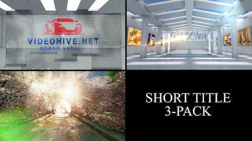 3 Short Titles Pack