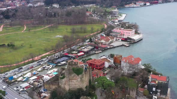 Thumbnail for Istanbul Bosphorus Aerial View 7