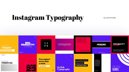 Instagram Typography for Davinci Resolve