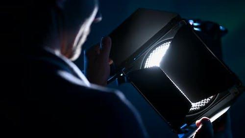 Film Production Continuous Light
