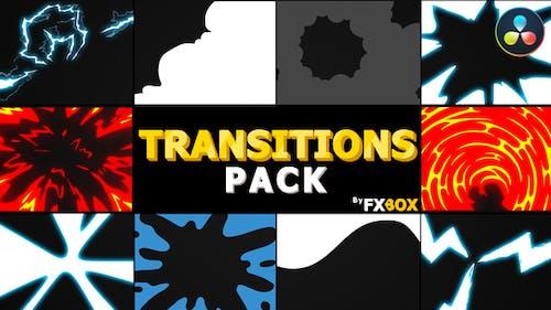 Flash FX Extreme Transitions | DaVinci Resolve