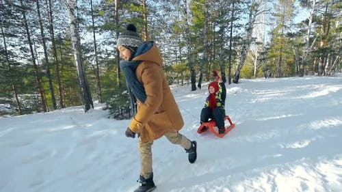 Angenehmer Winterurlaub