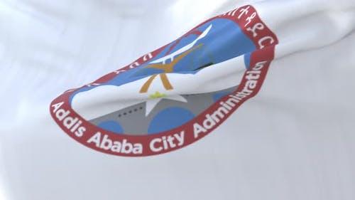 Addis Ababa Flag, Ethiopia