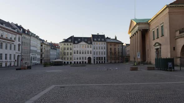 Cover Image for Empty Streets Of Nytorv During Lockdown