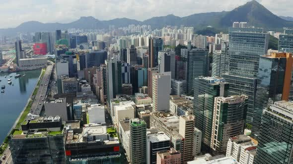 Thumbnail for Hong Kong Downtown with Skyscraper