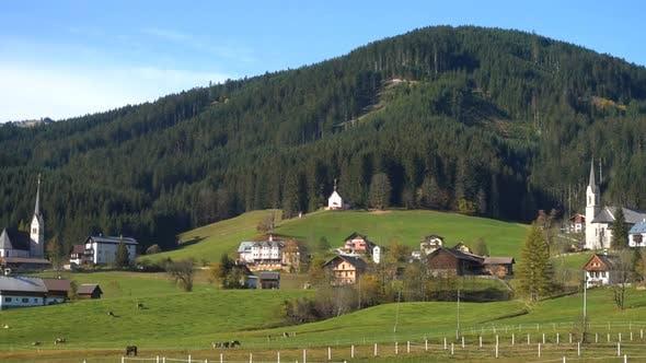 Thumbnail for Picturesque Austrian Mountain Village
