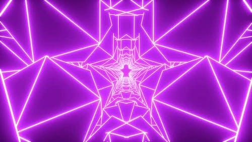 Purple Neon Vj Loop
