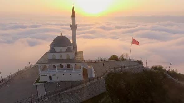 Thumbnail for Side Pass Through the Mosque Above the Clouds