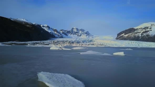 Thumbnail for Skaftafell Glacier in the Iceland National Park