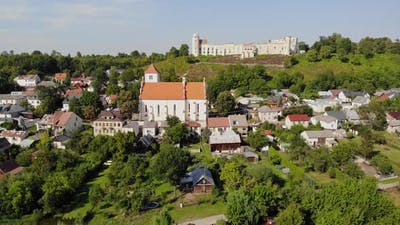 Renaissance castle in the small town of Janowiec.